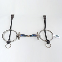 Snaffle T Bar Big Ring Gag (POLO)