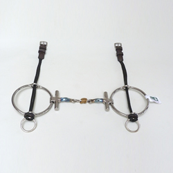 Square Twisted Colin Miles T Bar Big Ring Gag (POLO)