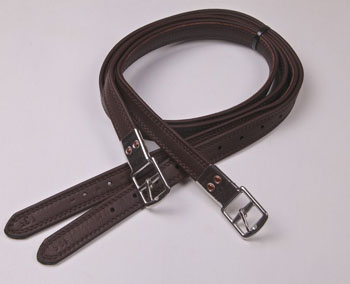 NEW Laminated Stirrup Leathers, 1""