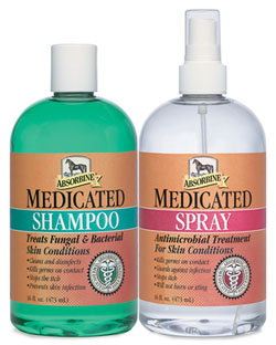 Absorbine Medicated Twin Pack, 16oz