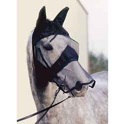 Quiet Ride Fly Mask for riding