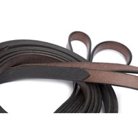 Running Reins, Leather and half-rubber lined