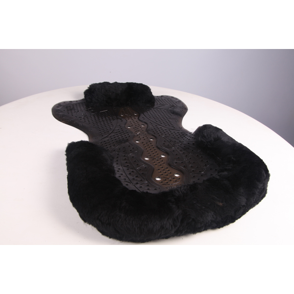 NEW Gel-Eze Sheepskin Trimmed Luxury Saddle Pad