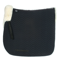 Saddle Square Dressage half lined