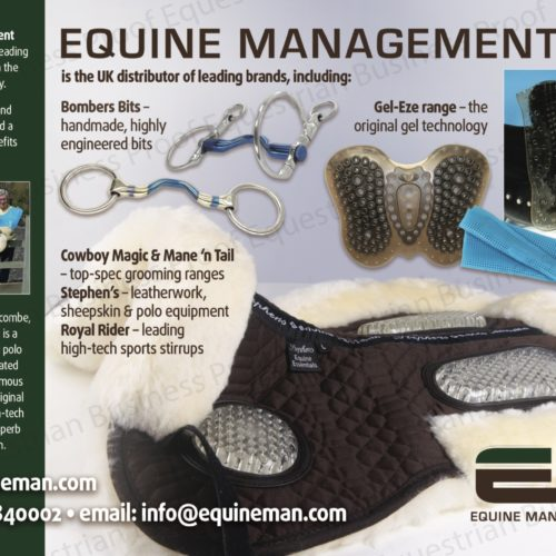 Equine Management Ltd is the UK distributor of leading brands