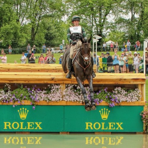 Eventer Ryan Wood. Pic by Cindy Lawler